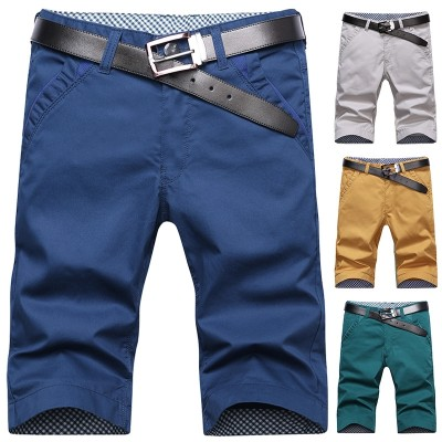 The  men's summer casual shorts 5 points five points in the Korean version of 7 points and seven points beach pants breeches panties tide