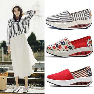 new summer leisure shoes Korean students all-match canvas shoes old Beijing shoes shoes lazy spring female