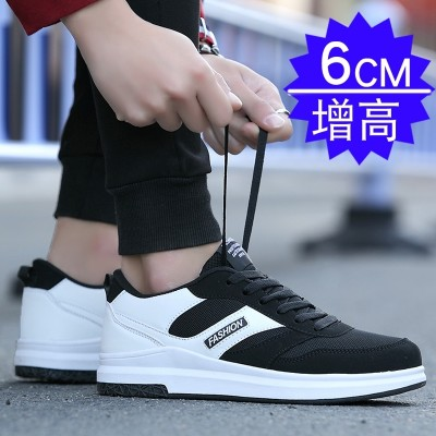 Summer breathable shoes shoes for men's shoes all-match trend of Korean sports net surface shoes