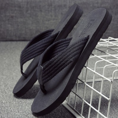 LBEL slippers, men's summer slip beach shoes, bathroom leisure sandals, outdoor feet pinch, cold mop tide, European and American flip flops men