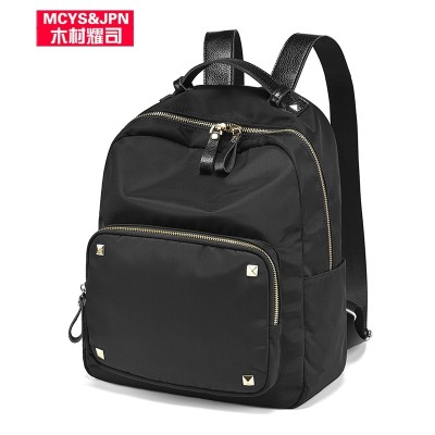 Oxford all-match Canvas Backpack Bag Nylon Backpack  Korean casual fashion Mommy new personalized tide