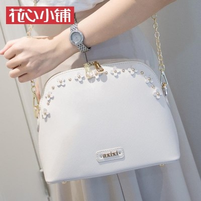 Flower shop  summer new Korean flower chain bag shell Bag Shoulder Messenger Bag Fashion Handbags