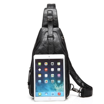 Men's shoulder bag, small chest bag, male Korean Edition pocket, outdoor sports leisure, riding backpack, chest male bag