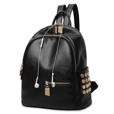 new female backpack Backpack Bag Korean summer school students personality all-match lady bag bag
