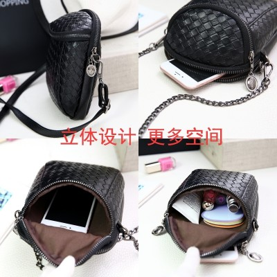 Mobile phone bag  female Mini summer bag shoulder all-match Korean Satchel Bag Purse female mobile phone