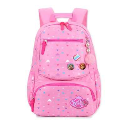 Disney bags, pupils, girls, grade 1-3-6, ridge protection, burden reduction, waterproof princess, backpack, light weight