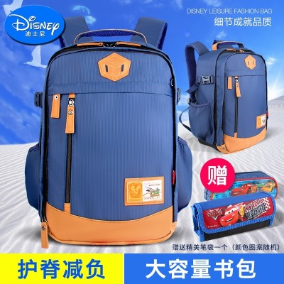 Disney bags, primary school students, grade 6-12, 3-5 years old, boys and girls, backpacks, leisure, children shoulders 4