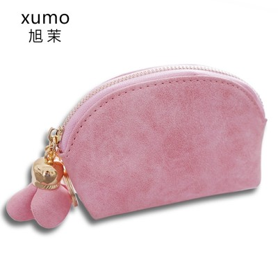 Xumo Korean female students change lovely small wallet card package bag Mini fresh coin bag simple fashion