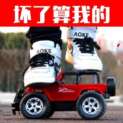 Tong Li, 35 cm, super remote control car, off-road vehicle, big foot car charging, remote control car, car, children toy car, boy