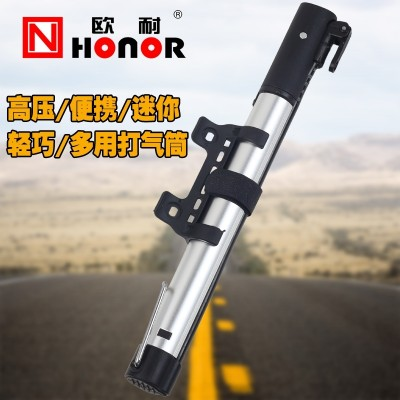 The bicycle pump is equipped with bicycle and bicycle parts