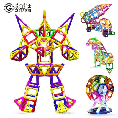 A girl boy toys 1-2-3-6-10 years old girl boy magnet is a puzzle