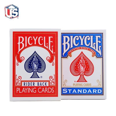Bicycle poker single-license plate with a new old version of the old version