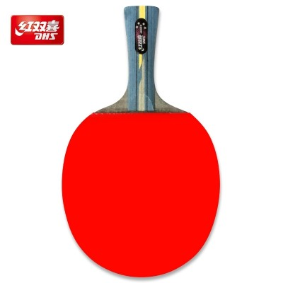 A table tennis racket grip penhold beginners 3 hurricane King double beat beat finished four single shot PPQ