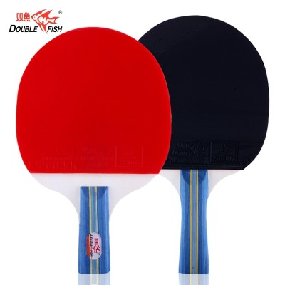 This tennis racket double beat 2 pack three beat PPQ table tennis beginners table tennis racket set