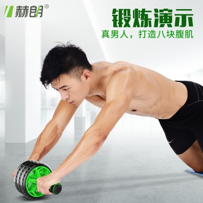 Abdominal wheel, abdominal roller, men's trainer, abdominal exercise equipment, home ladies, tummy roll, pulley mute