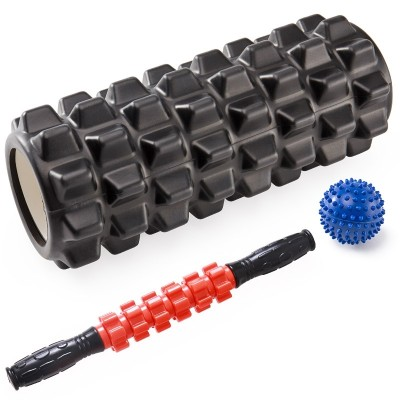 The foam roller shaft muscle relaxation massage mace yoga fitness equipment for Yoga Stretch column roller