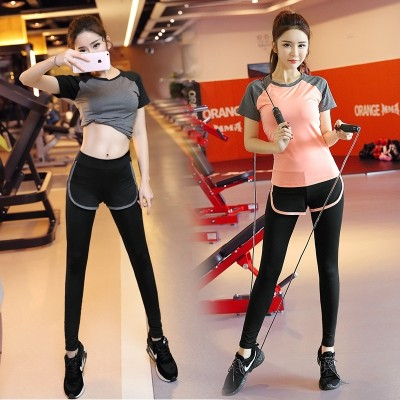 Austrian  spring and summer, new show slim Yoga suit, women's gym, running sports, speed drying vest