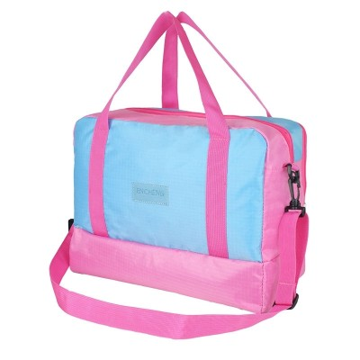 The beach swimming bag dry separation and waterproof bag travel bag large bath wash bag bag bathrobe