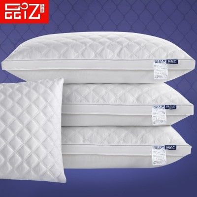 Hotel pillow, pillow, washed cotton, feather velvet, adult student care, cervical pillow, a pair of 2 sets