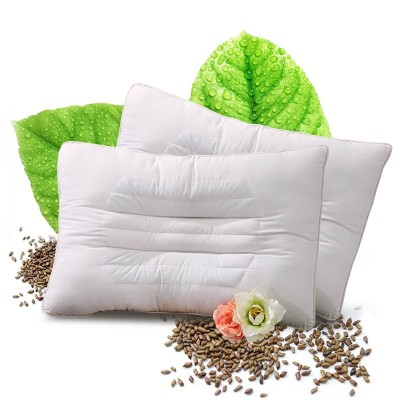 Fuanna pillow pillow for adult single seed cotton children's dormitory cervical vertebra protective pillow