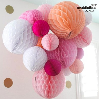 30cm honeycomb balls, lanterns, birthday parties, parties, decorations, dessert tables, wedding rooms, festivals, roof decorations