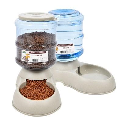 Dog water dispenser, pet automatic feeder, dog water dispenser, cat feeding kettle, dog bowl feeder