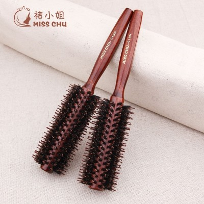 Miss Chu bristles comb hair comb comb comb buckle round roll hair combed hair styling comb fringe