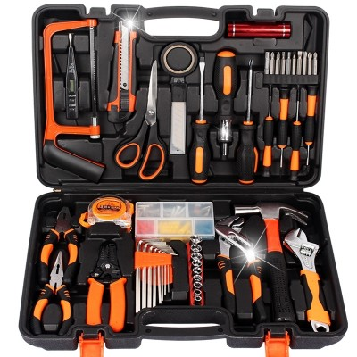 Long g German household toolbox set of multi-functional metal tools electrician's electric drill