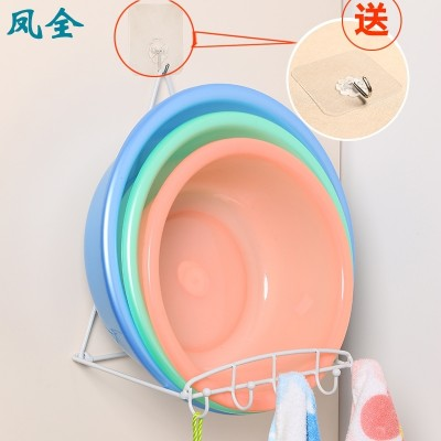 Bathroom toilet is powerful suction dish washbasin hook wall to hang the wall stick hook wall to hang a bracket to hang a frame
