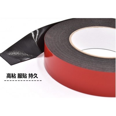 Red film black two-sided foam rubber super strong foam rubber exterior wall building decorated car with foam tape