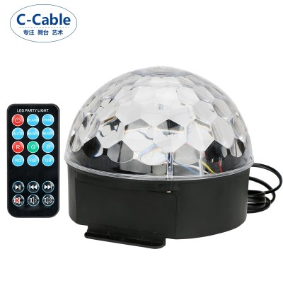 C-cable stage lamplight light crystal magic bulb, the KTV flash room