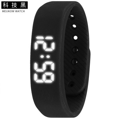 Electronic watch girl student han edition simplicity movement waterproof step intelligent meter bracelet noctilucent children watch the boy