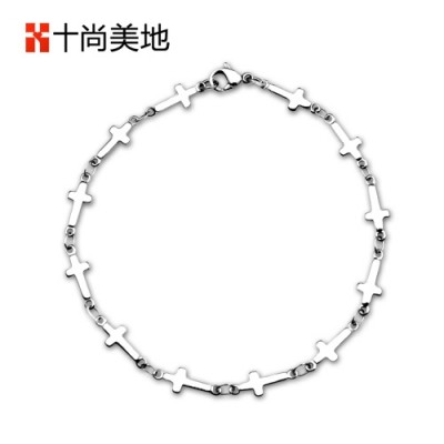 Cross Bracelet, small, fresh accessories, no fading, Japanese and Korean wind decorations