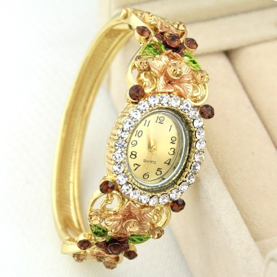 Lan Ting decorated with fine, popular fashion, national wind, alloy, diamond, open bracelet, bracelet watches, jewelry, jewelry, women