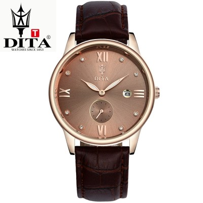 Di tower Han edition men's skin with waterproof business men watch luminous wrist watch quartz watch fashion trends