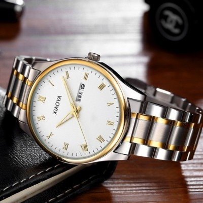 South Korea han edition ultra-thin fashion watches men steel band quartz watch luminous female student contracted male table table trend
