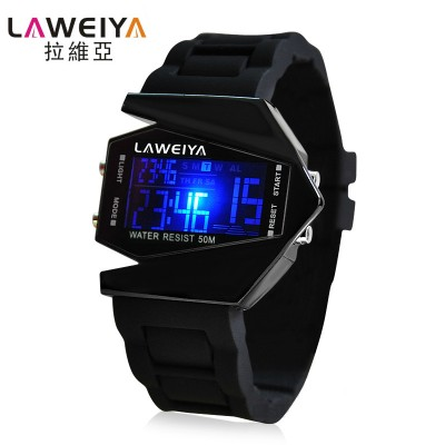 La via children watches individuality creative plane waterproof LED watch children watch men and women students