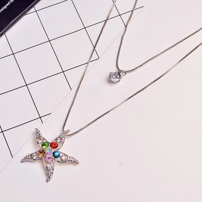 Qiu dong female encircled love sweater chain long joker retro pendant accessories all sorts of adornment necklace