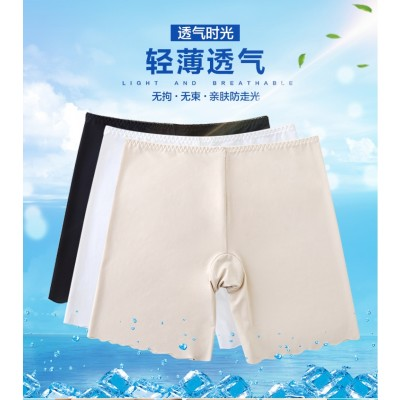 3 sets of summer wear safety trousers three points, pants pants, women's underwear shorts, spring and autumn section of large yards stretch