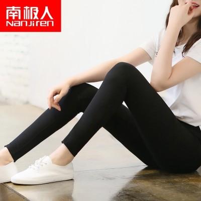 Nanjiren Leggings spring  new female Korean wearing black all-match feet thin thin summer nine