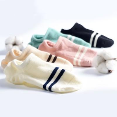 Socks, women's socks, socks shallow, invisible summer, thin cotton, silicone slip, low Korea, lovely Korean soles socks
