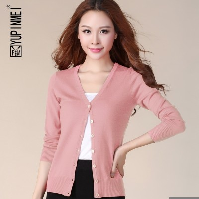 The summer air conditioning sweater cardigan sunscreen thin knit jacket  new a short spring and autumn sweater shawl