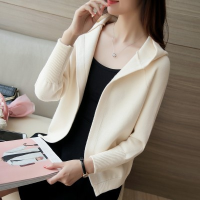 Women's sweater cardigan jacket female female Korean loose sweater in spring and autumn spring  female new tide