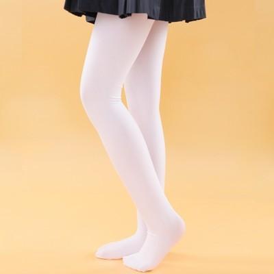 Children tights, summer thin stockings, dance socks, spring and winter conjoined socks, girls' white grounding socks
