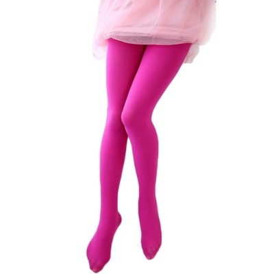 The little swallow Nini girls candy colored tights primer  New Summer Dance Tights thin elastic stockings