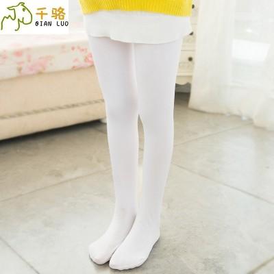 summer Girls Dance socks, children's white tights, stockings, big children, tights, conjoined socks