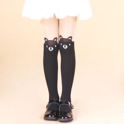 Children's tights, spring and summer girls, fake spells, stockings, baby, velvet stockings, bottoming socks