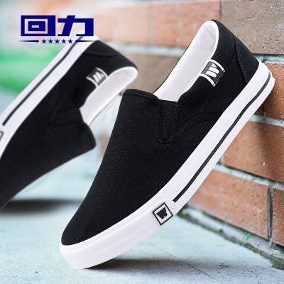 A male warrior canvas shoes breathable shoes shoes summer lovers pedal lazy low help recreational shoe