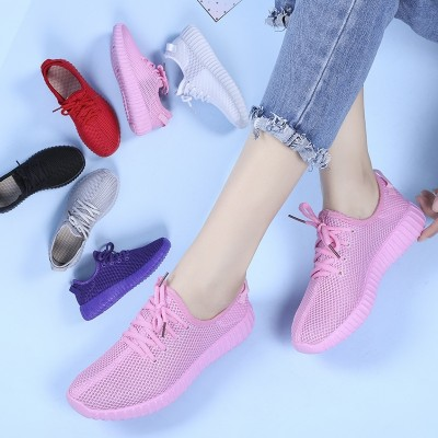 Sha Shi Road candy multicolor gazelle breathable mesh sport shoes, casual shoes all-match summer  new female