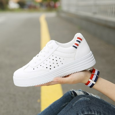 new white shoes all-match Korean student street shoes shoes breathable white canvas shoes in summer